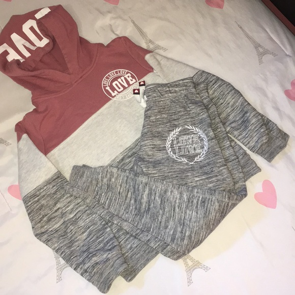 reflex girls Other - reflex girls  hoodie and pants girls set